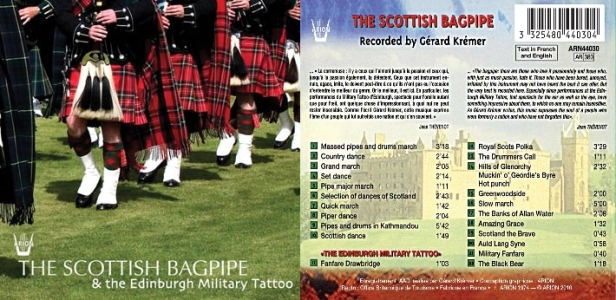 The Scottish bagpipe & the Edinburgh Military Tatto