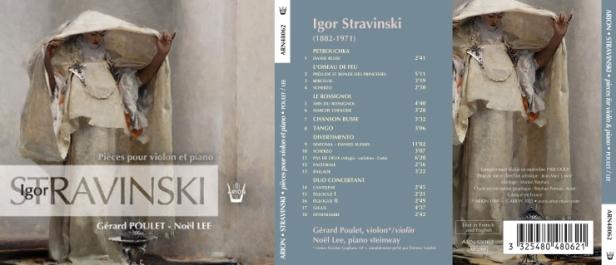 Stravinsky - Petrouchka - L'Oiseau de Feu… par Noël Lee au piano et Gérard Poulet au violon