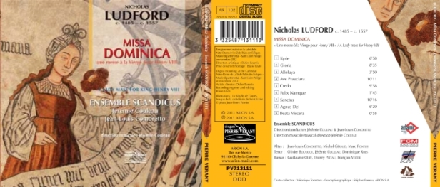 The Ensemble Scandicus made this première recording of Ludford's Missa dominica with the aim of sharing the beauties of one of the finest early sixteenth-century English works. We sincerely hope that it will bring much enjoyment to all who hear it!