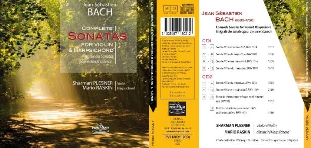 Sherman Plesner et Mario Raskin jouent l'Intyégrale des Sonates pour violon et clavecin de Domenico Scarlatti