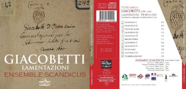 L'ensemble Scandicus en pleine épanouissement dans l'oeuvre de Pietro Amico Giacobetti
