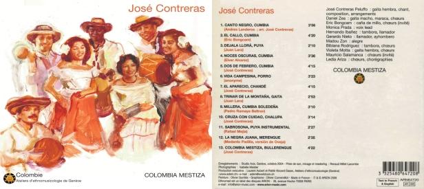 """Colombia Mestiza - """"Colombie"""" par José Contreras au chant et à la Gaita hembra"""