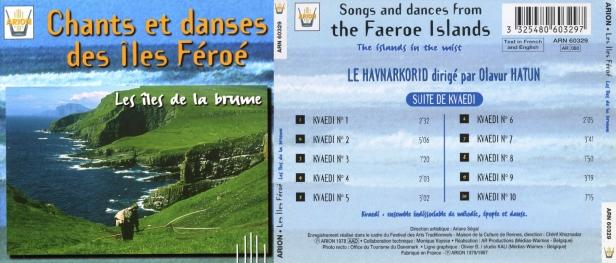 Chants & Danses des Iles Féroe - Les Iles de la Brume par le Havnarkorid sous la direction de Olavur Hatun