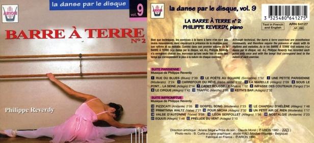 La danse par le disque Vol.9 - Barre à terre N°2, accompagné par Philippe Reverdy au piano