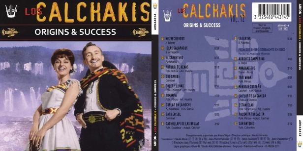 Los Calchakis Vol.12 - Origins & Success