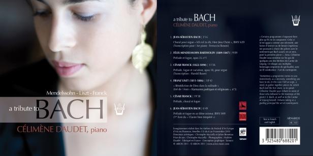 A Tribute to Bach par Célimène Daudet au piano