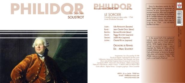 François-André Danican Philidor - Le Sorcier [1764] - Comédie Lyrique en 2 actes par l'Orchestre de Rennes dirigé par Marc Soustrot