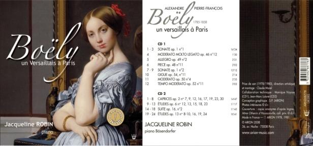 """Alexandre-Pierre-François Boely  - """"Un Versaillais à Paris"""" par Jacqueline Robin au piano Bosendorfer"""