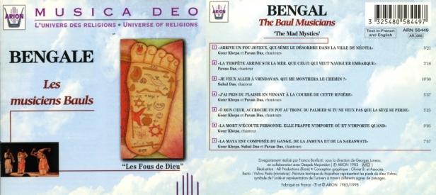 """Le Bengale """"Les Fous de Dieu"""" par Les Musiciens Bauls"""