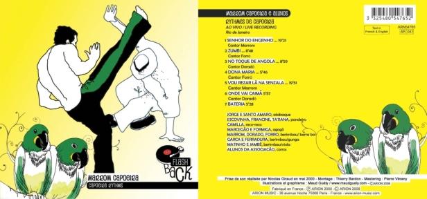 """Brasilia - """"Axe! Capoeira Music & Ryhtms"""" avec Marrom Capoeira & Alunos"""
