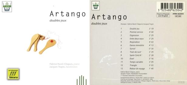 ARN62304 Artango double jeux