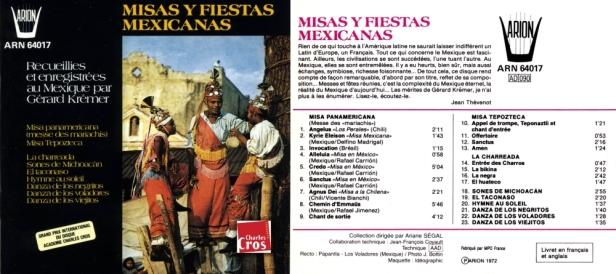 ARN64017 Misas y fiestas - Kremer