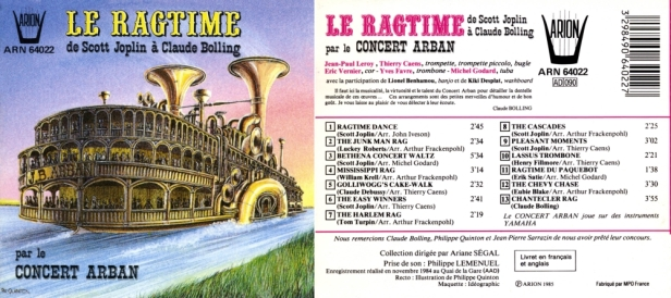 ARN64022 Ragtime - Concert Arban