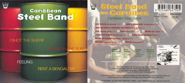 """Caribbean Steel-Band"" avec Miguel Barradas, Errol Danieel, Franck Ince et Kenneth Johnson"