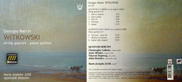 ARN68715 entier Witkowski - Debussy
