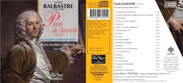 PV707021 entier Balbastre - Brosse