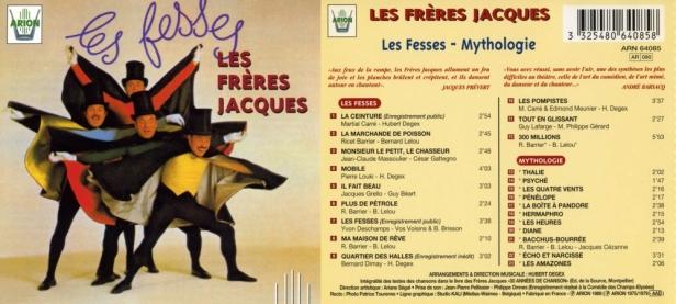 ARN64085-Les Fesses - Frères Jacques