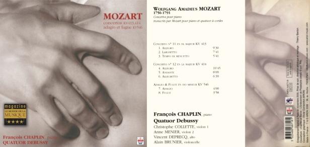 ARN68718 - Mozart - Chaplin