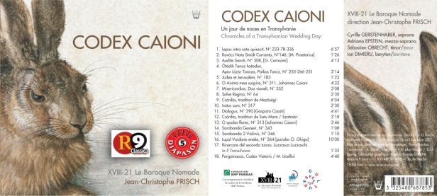 ARN68785 Codex Caioini - XVIII-21