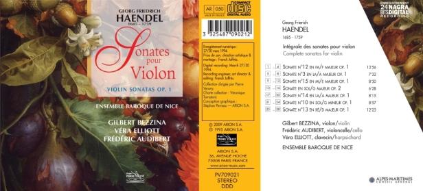 PV709021 - Haendel - Ens. Baroque de Nice
