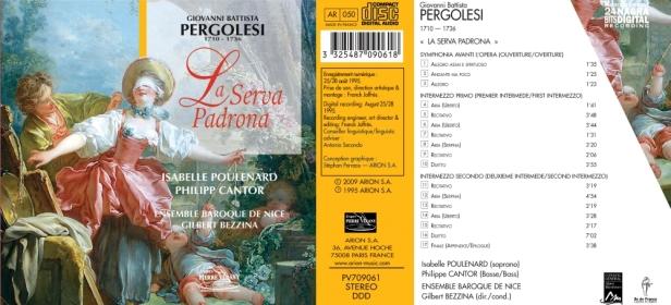 PV709061 - Pergolese - Ens. Baroque de Nice