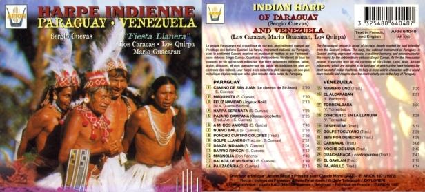 ARN64040 Cuevas Harpe indienne