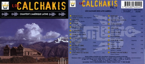 ARN64044 Calchakis andes