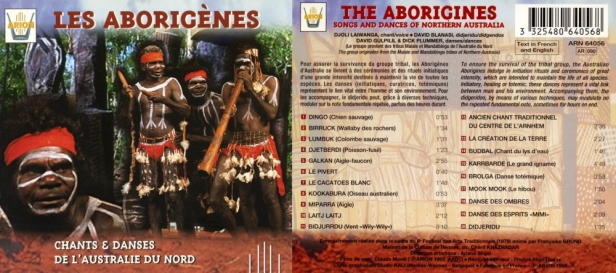 ARN64056 Les Aborigènes d'australie
