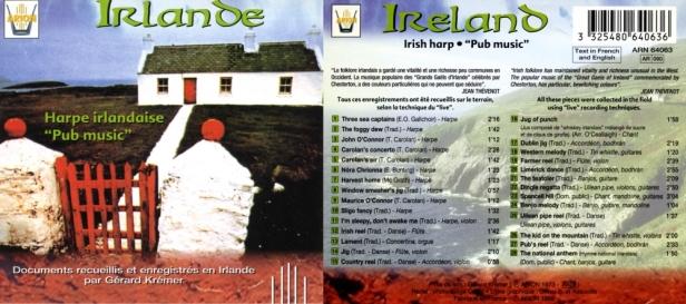 ARN64063 Harpe irlandaise