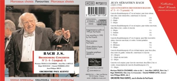 PV730115 Bach - Kuentz
