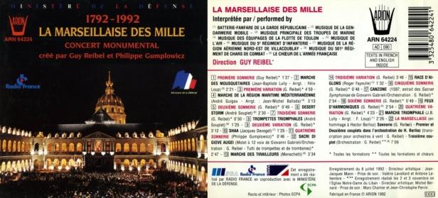 ARN64224-Marseillaise des milles