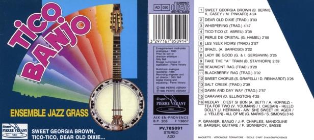 """Tico-Banjo"" avec l'Ensemble Jazz Grass dirigé par Jean-Paul Charles"