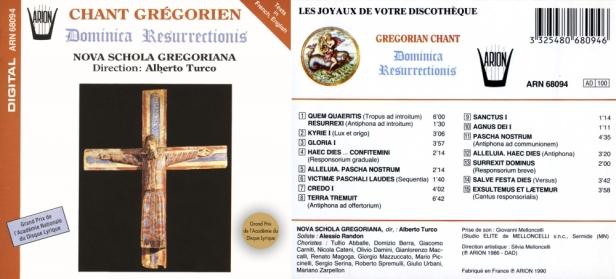ARN68094-Gregoriens-Noca Schola