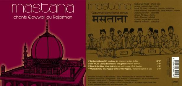 """""""Mastana - Chants Qawwali du Rajasthan"""""""