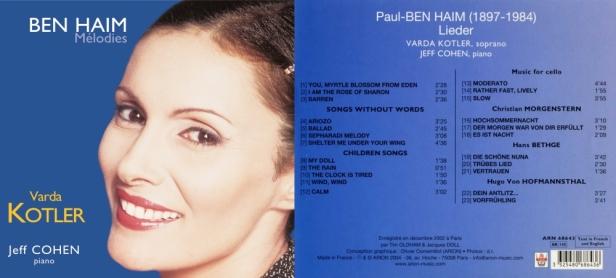ARN68643-Ben Haim-Lieder