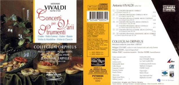 PV700034-Vivaldi-Collegium Orpheus
