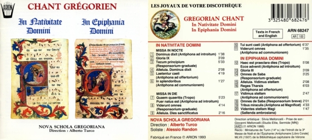 ARN68247-Chant Grégorien