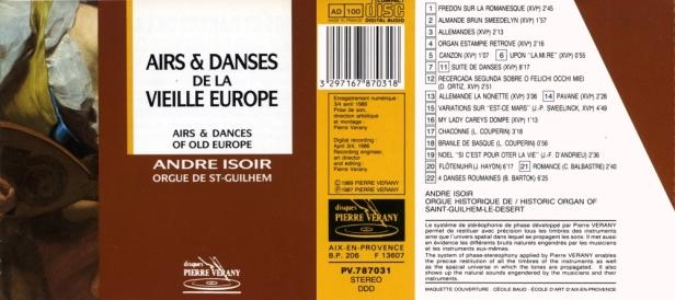 PV787031-Airs et danses-André Isoir