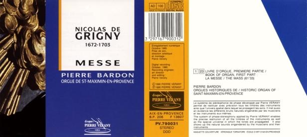 """Nicolas de Grigny """"Messe"""" avec Pierre Bardon à l'orgue historique de Saint-Maximin en Provence"""
