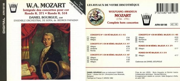 ARN68198-Mozart-Daniel Bourgue