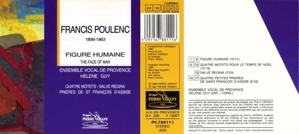 PV788111-Poulenc-Vocal de Provence