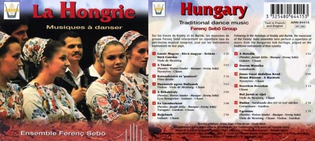 """""""La Hongrie - Musiques à danser"""" avec  l'Ensemble Ferenc Sebo"""