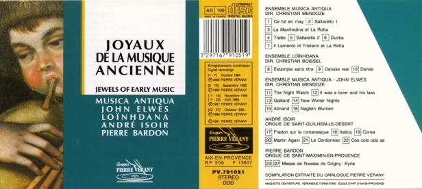 PV791051-Musica Antiqua