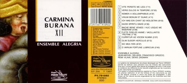 PV791092-Carmina burana-Alegria