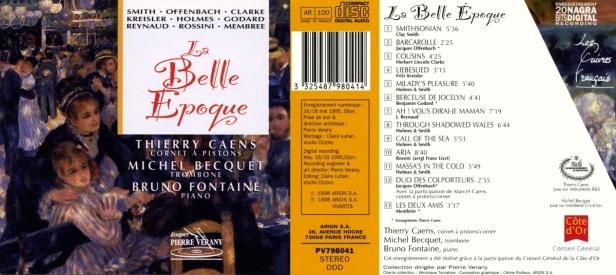"""""""La belle époque"""" avec Thierry Caens à la trompette, Michel Becquet au trombone et Bruno Fontaine au piano"""