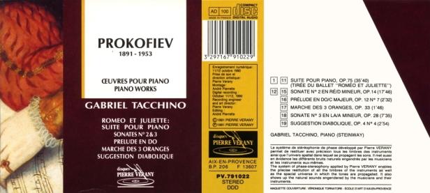 PV791022-Tacchino Prokofiev