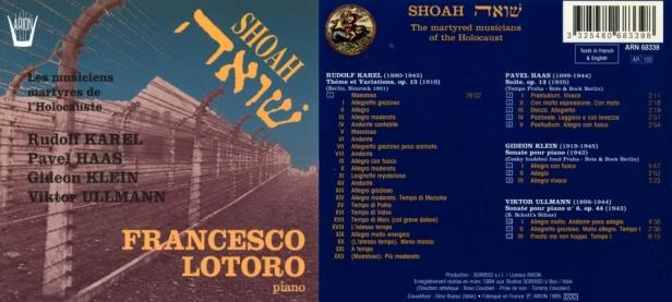 """""""Shoah - Les Musiciens Martyres de l'Holocauste"""" par Francesco Lotoro au piano"""