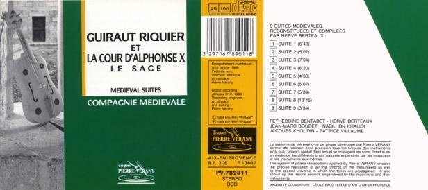 """""""Guiraut Riquier & la cour d'Alphonse X le Sage"""" par la compagnie médiévale et Berteaux Hervé"""