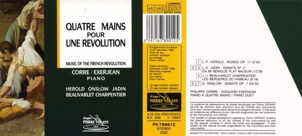 """""""Quatre mains pour une révolution"""" par Corre Philippe & Exerjean Edouard, Piano"""