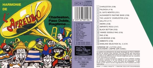 """""""Charleston, pasos doble, ragtime..."""" par l'Harmonie de l'Afreubo dirigée par Louis-André Lompré"""